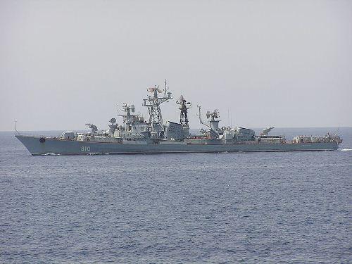 Tàu khu trục Smetlivy là vũ khí vừa được Nga điều tới tham chiến tại Syria. Ảnh: Giao thông