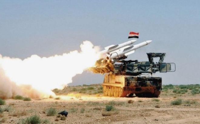 Hệ thống tên lửa phòng không Syria. Ảnh: CAND