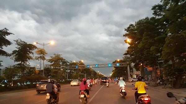 Dự báo thời tiết các vùng trên cả nước đêm 31 ngày 01/06/2018 cả nước mưa dông. Ảnh: Doãn Trung