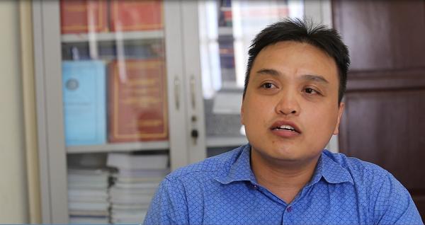 Chuyên gia Trần Quang Vinh - Phó phòng hóa học xanh- Viện hóa học- Viện Hàn lâm Khoa học.