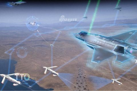 Máy bay robot cỡ nhỏ khi cần có thể biến thành tên lửa Mỹ đang phát triển có thể thu hồi lại sau khi đã phóng đi. Ảnh: Đất Việt