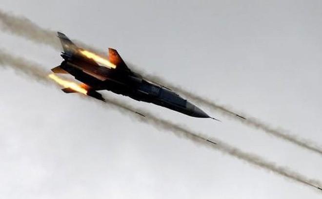 Máy bay Nga nã cơn mưa bom tại Syria. Ảnh: Trí thức trẻ