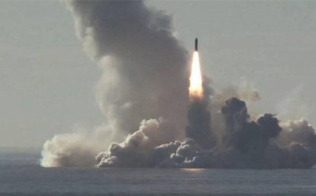 Tên lửa Bulava của Nga được đưa vào trực chiến. Ảnh: ANTĐ