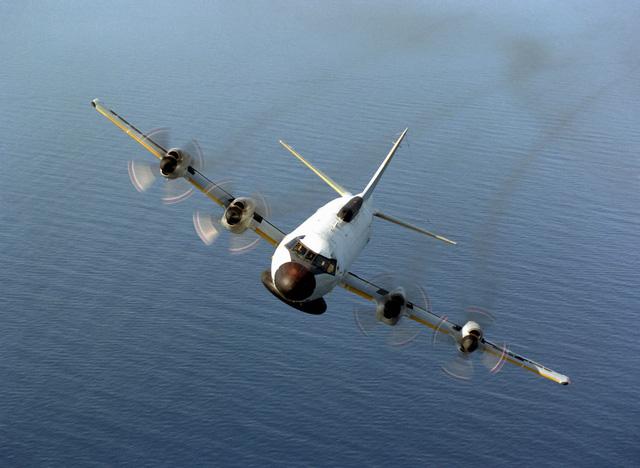 Máy bay Mỹ do thám tại Syria. Ảnh: Thời đại