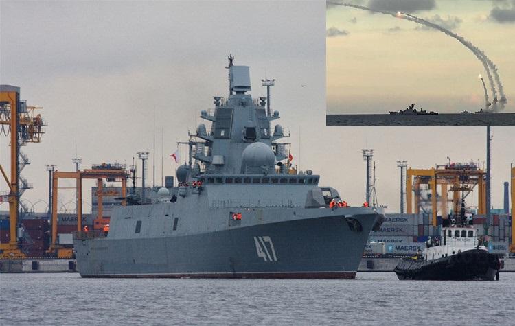 Tàu khu trục Nga sở hữu nhiều tên lửa mạnh vô đối chuẩn bị được biến chế cho Hải quân Nga.