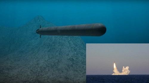 Tàu ngầm mới Nga đang bí mật phát triển.