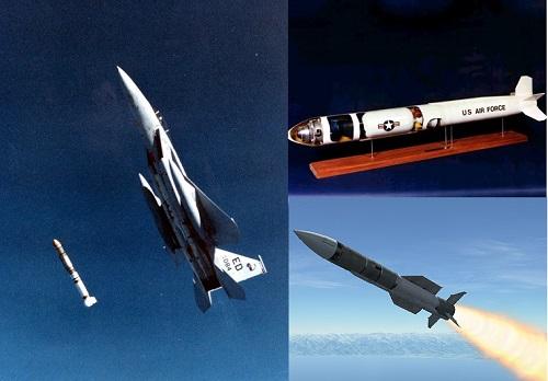 Tên lửa ASM-135 kết hợp với tiêm kích F-15 sẽ trở thành vũ khí cực mạnh của Mỹ trong tương lai.