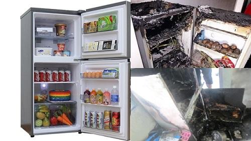 Tủ lạnh cũng có thể phát nổ nếu mắc sai lầm khi sử dụng