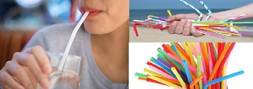 Ống hút nhựa tiềm ẩn nhiều nguy cơ tới sức khỏe nên nhiều nước đã đồng loạt cấm dùng