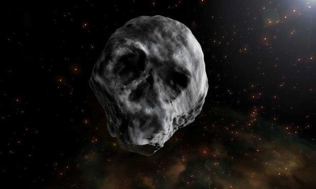 Thiên thạch hình hộp sọ đang tiến gần Trái đất