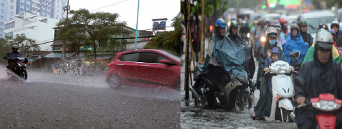 Khi lái xe vào mùa mưa cần hết sức thận trọng tránh mắc sai lầm không đáng cớ gây nguy hiểm tính mạng