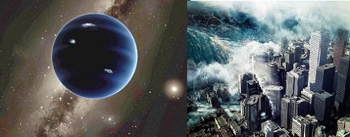 Một khi hành tinh Nibiru xuất hiện toàn bộ sự sống trên Trái đất sẽ bị hủy diệt bởi cơn sóng thần 1.200km/h càn quét