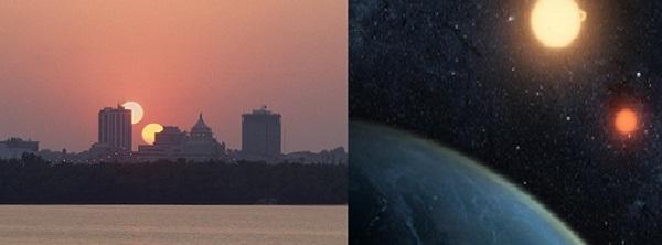 Nếu vũ trụ có 2 Mặt trời lúc đó Trái đất sẽ có nhiều thay đổi