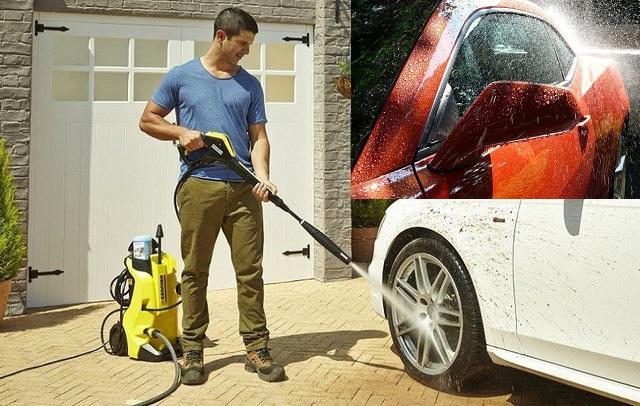 Sai lầm khi rửa xe ô tô bằng máy cao áp có thể khiến xe bị hỏng nhanh chóng