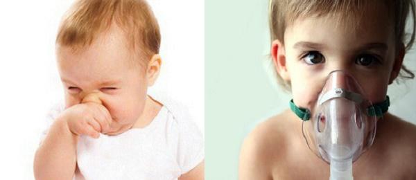 Xông mũi cho trẻ nhỏ cần hết sức thận trọng kẻo gây nguy hiểm