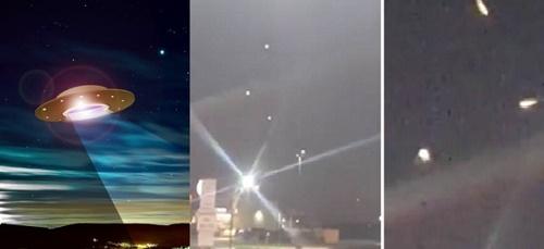 Những lần UFO xuất hiện trên bầu trời