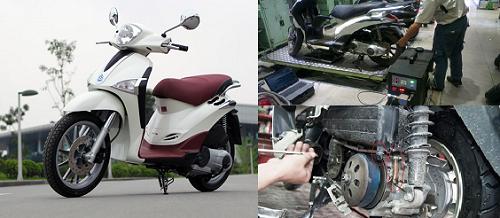Xe Piaggio Liberty Việt gặp khá nhiều lỗi khi sử dụng