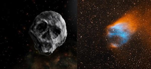 Các hành tinh, tinh vân đầu lâu có thể tiến sát và đe dọa Trái đất