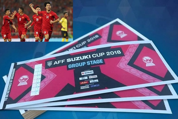 Mua vé online trận chung kết AFF cucp 2018 bằng mã QR giúp tiết kiệm thời gian