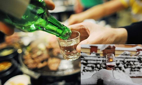 Uống rượu giữ ấm cơ thể vào mùa đông là một thói quen sai lầm
