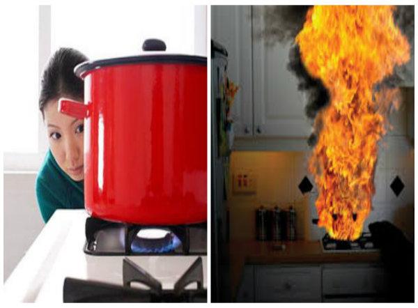 Sai lầm khi sử dụng gas đun nấu dễ gây hỏa hoạn