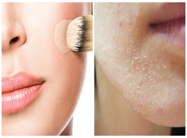 Dùng kem nền sai cách có thể khiến việc trang điểm không hiệu quả, hại da mặt