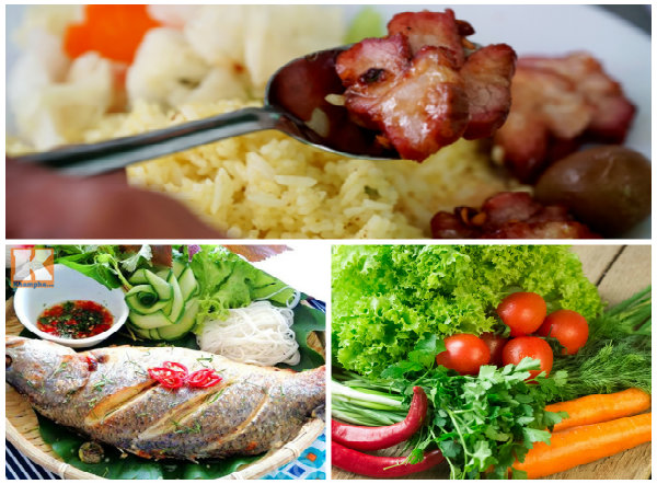 Do ăn quá nhiều thịt, ít rau xanh và cá nên người Việt ngày càng có nhiều người mắc bệnh hiểm nghèo