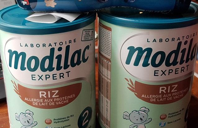 Cần tập trung kiểm soát và thu hồi sữa Modilac nhiễm Salmonella Poona vì có thể gây hại cho người dùng. Ảnh: Zing News