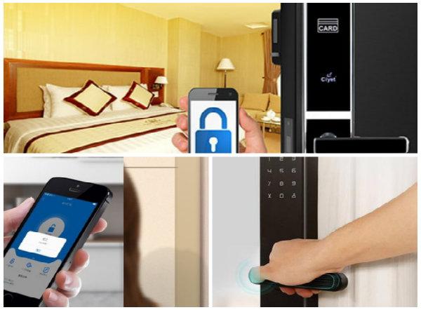 Sử dụng khóa cửa thông minh nên thận trọng