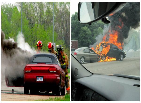 Xe ô tô dễ cháy nổ vì nhiều nguyên nhân tài xế nên biết để tránh họa
