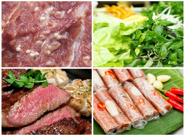 Sán lợn ẩn mình trong nhiều loại thực phẩm nên tránh