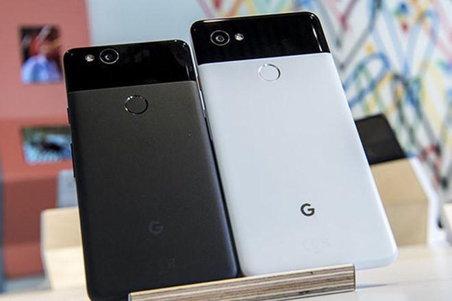 Hình ảnh điện thoại Pixel 3 và 3 XL sắp ra mắt. Ảnh: AFP