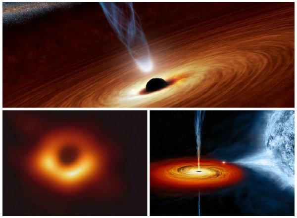Hố đen vũ trụ vừa được các nhà khoa học chụp được.