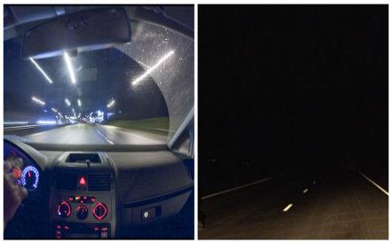 Lái xe ban đêm rất nguy hiểm tài xế phải hết sức tỉnh táo để tránh rủi ro
