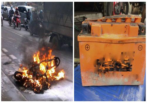 Ắc quy xe máy sẽ dễ hư hỏng, cháy nổ nếu chủ xe mắc sai lầm khi sử dụng
