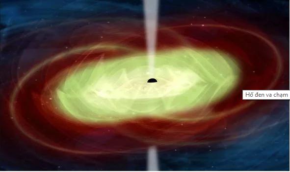 NASA tiết lộ điều kinh hoàng xảy ra khi 2 hố đen vũ trụ 'đụng độ'