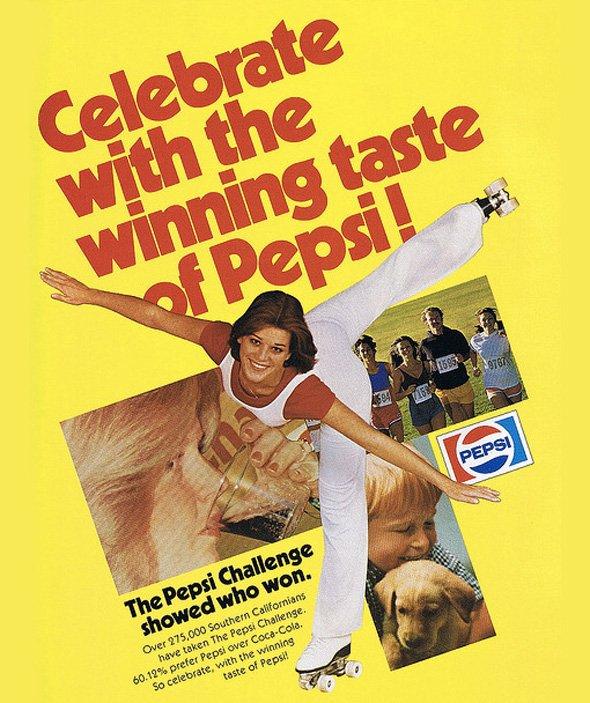 Pepsi từng là thương hiệu đồ uống có ga hàng đầu trên thế giới