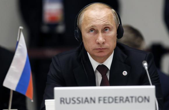 Tổng thống Nga Putin cáo buộc Mỹ làm mất ổn định tình hình thế giới trong bài phát biểu hồi tưởng chiến tranh lạnh. Ảnh minh họa