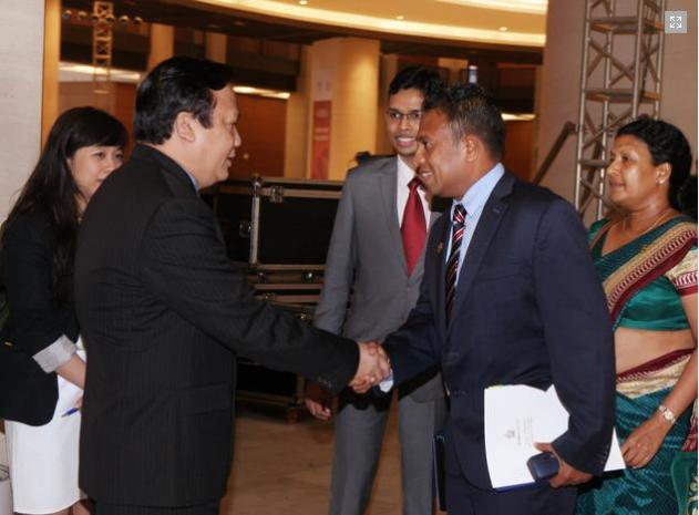 Việt Nam chào mừng các đại biểu tham dự liên minh nghị viện thế giới IPU 132