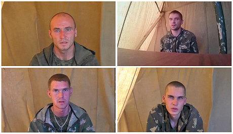 lính nhảy dù Nga bị bắt giữ