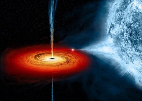 Lỗ đen là một vùng mà trường hấp dẫn ngăn cản mọi thứ
