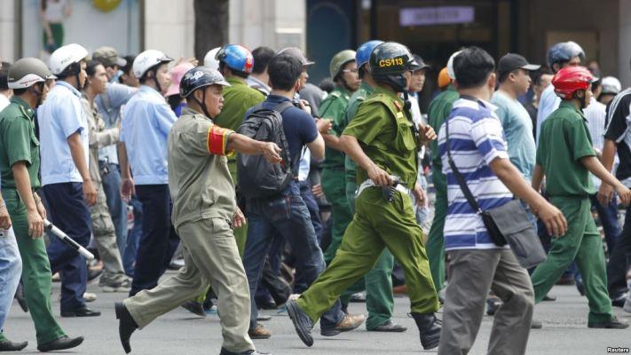 chính phủ chưa thông qua luật biểu tình