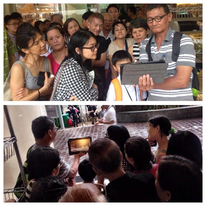 Người dân tập trung theo dõi lễ tang cố Thủ tướng Lý Quang Diệu