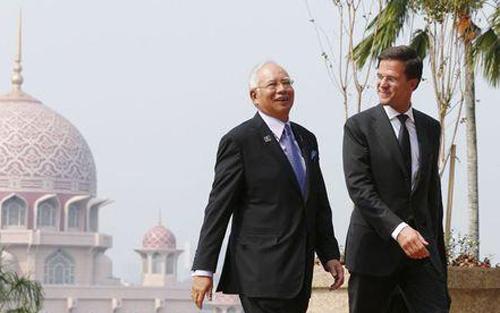 Thủ tướng Hà Lan đến thăm Malaysia trong 3 ngày từ 5-7/11 bàn về hợp tác điều tra vụ MH17