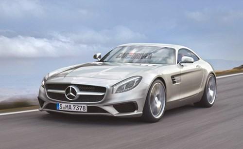 2016 Mercedes-Benz AMG GT thanh thoát mà không kém phần mạnh mẽ