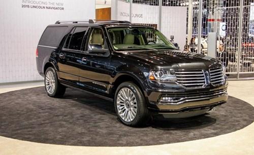 2015 Lincoln Navigator sang trọng