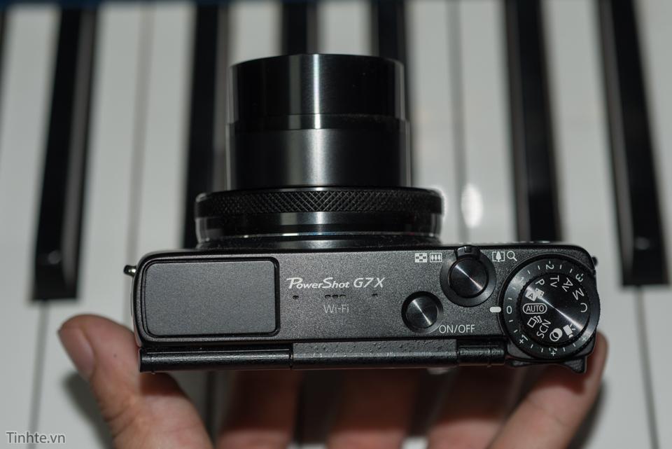 Ống kính có độ mở rộng được tích hợp trong máy ảnh du lịch Powershot G7x