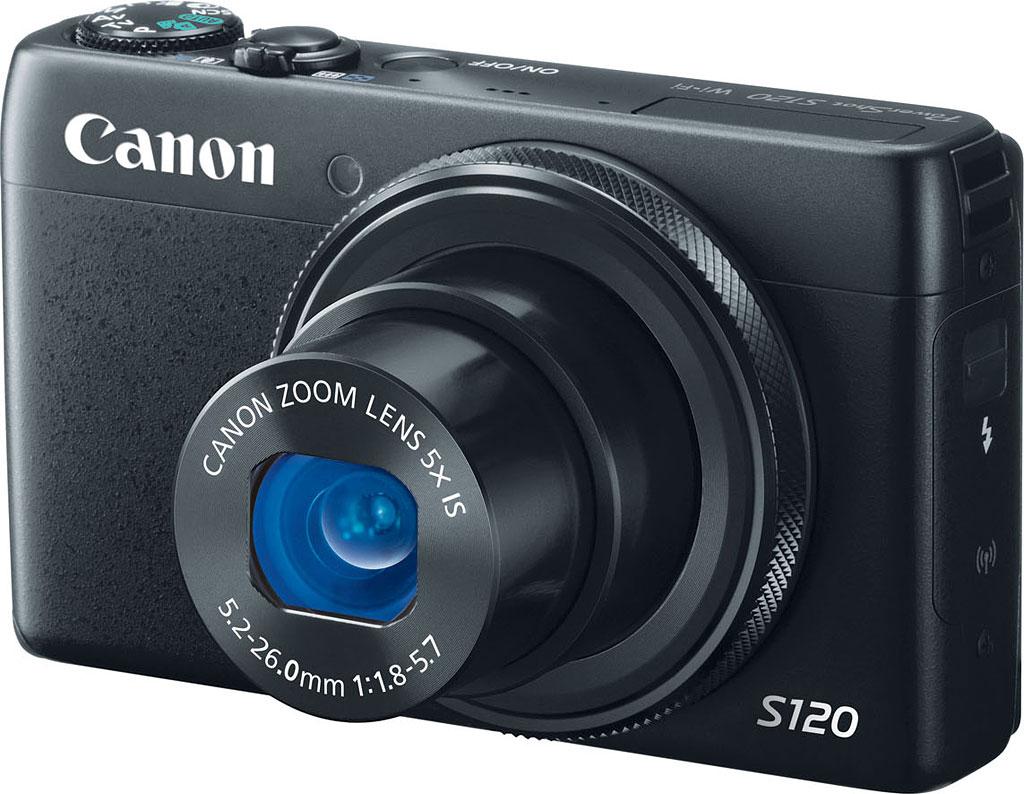 S120 là dòng máy ảnh giá rẻ của Canon