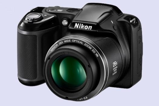 Máy ảnh giá rẻ Nikon Coolpix L320 mang vẻ đẹp sang trọng và lịch lãm