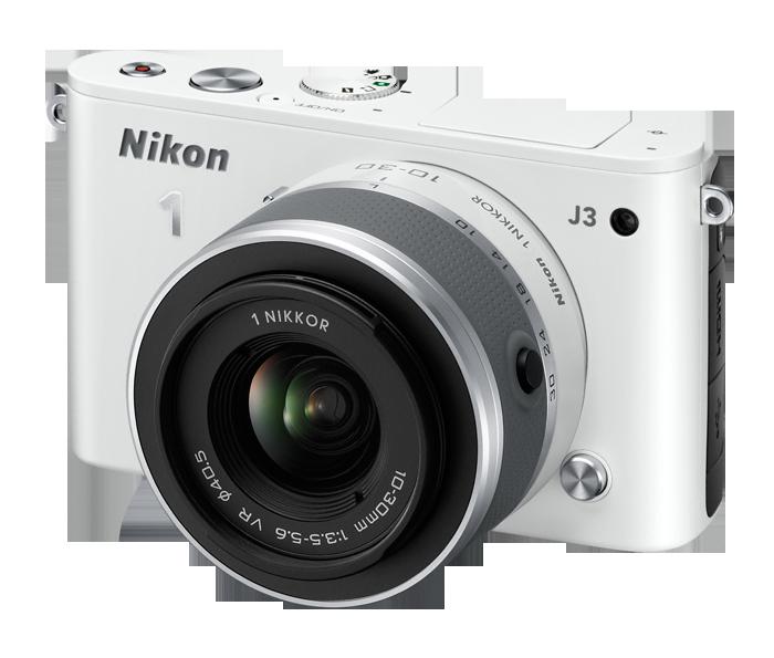 Máy ảnh giá rẻ Nikon J3 được thiết kế khá đẹp